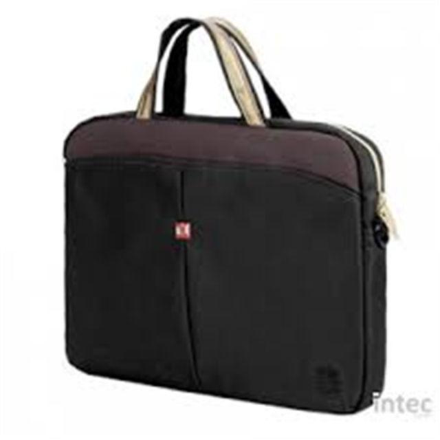 """ნოუთბუქის ჩანთა Continent Netbook brief CC-013 for 13"""" Cranberry, Nylon-Polyester, Messenger - Briefcase"""