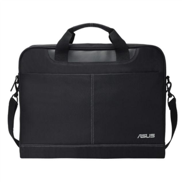 """ნოუთბუქის ჩანთა Asus Nereus Fits up to size 16 """", Black, Messenger - Briefcase, Shoulder strap, Waterproof"""
