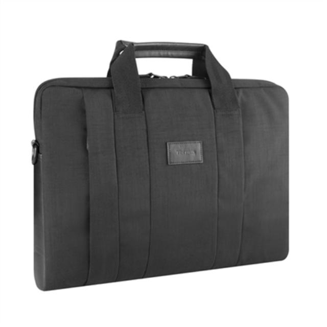 """ნოუთბუქის ჩანთა Targus City Smart Fits up to size 15.6 """", Black, Messenger - Briefcase, Shoulder strap"""