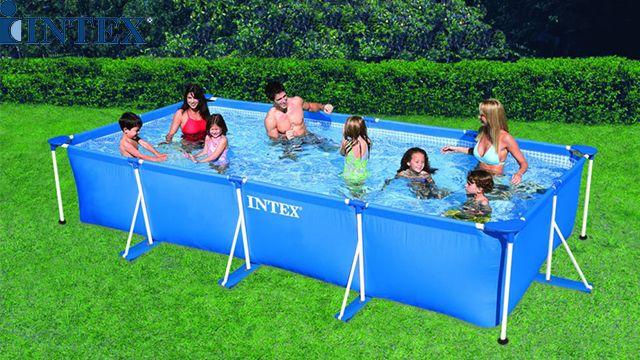 აუზი INTEX 28273 Swimming Pool Family Frame