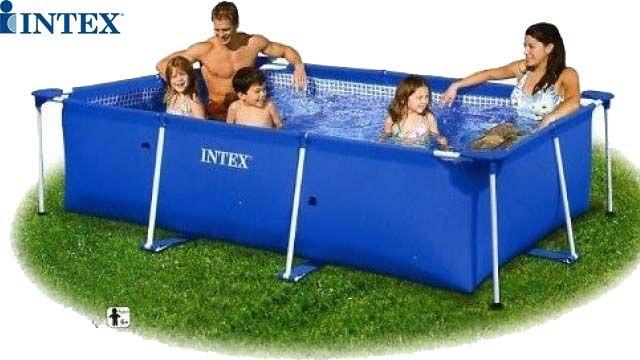 აუზი Intex 28271 Small Family Frame Pool