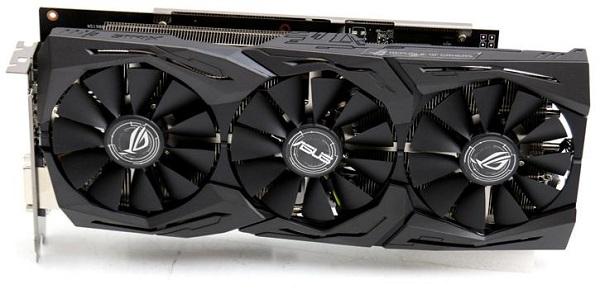 ვიდეო დაფა Asus ROG Strix Radeon RX 580 TOP edition 8GB GDDR5 256-bit