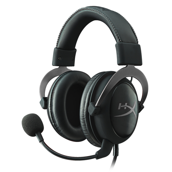 ყურსასმენი Kingston HyperX Cloud II (KHX-HSCP-GM) Gun Metal