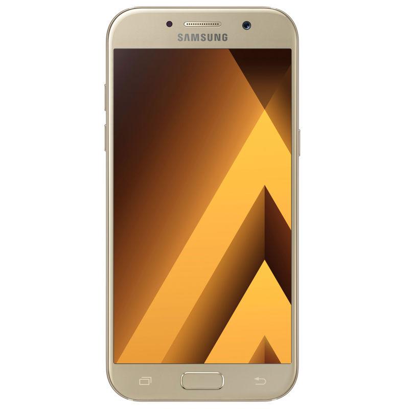 მობილური ტელეფონი SAMSUNG GALAXY A5 (A520FD) DUAL SIM 32 GB LTE GOLD