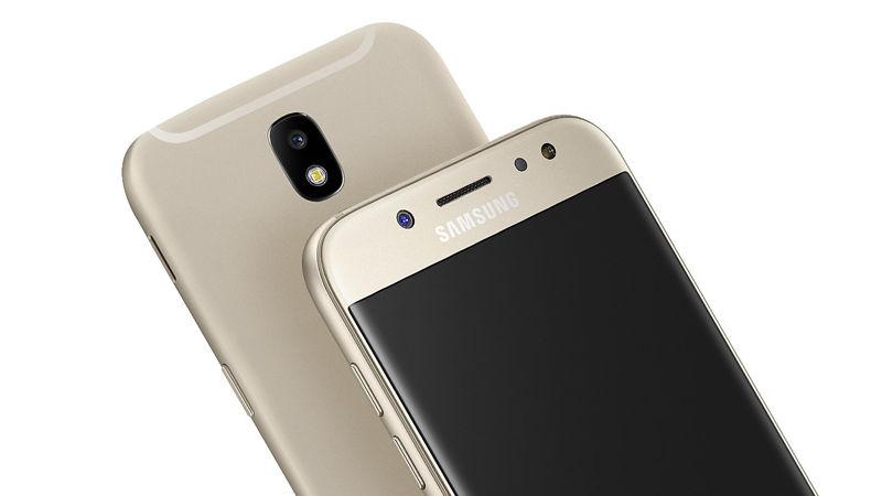 მობილური ტელეფონი Samsung Galaxy J5 (J530F) LTE Dual Sim Gold  (2017)