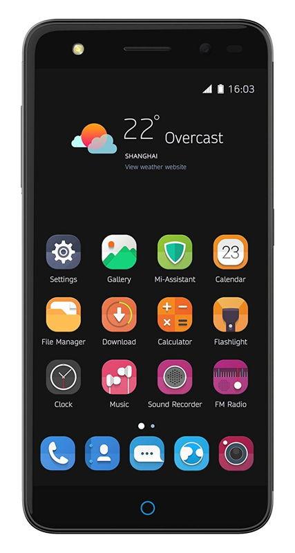 მობილური ტელეფონი ZTE Blade V7 Lite Grey
