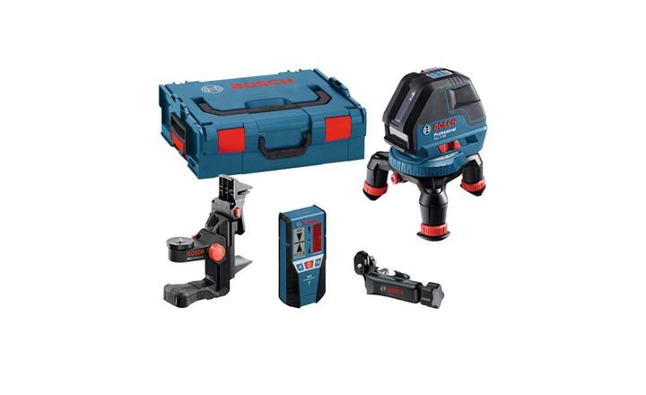 ნიველირი Bosch GLL 3-50 + BM1 + LR 2 + L-BOXX