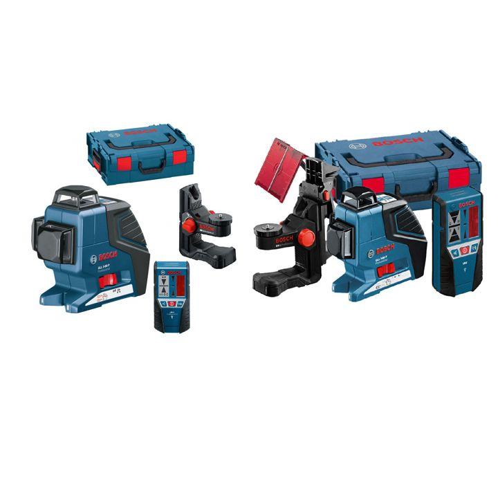 ნიველირი Bosch GLL 3-80 P /BM1 / LR2 L-Boxx