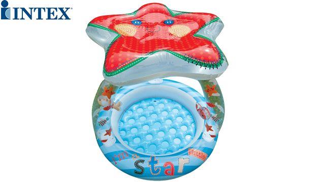 საბავშვო აუზი INTEX 57428 Starfish with a roof 102x86 cm