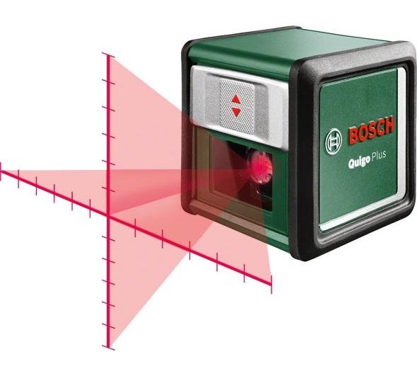 ლაზერული ნიველირი Bosch Quigo Plus (0603663600)