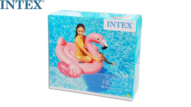 გასაბერი ფლამინგო Intex Water Play Equipment INTEX 57558 Pink Flamingo