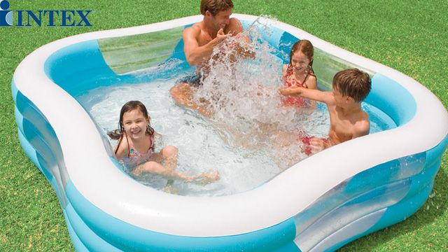გასაბერი აუზი Intex 57495 Beach Wave Swim Center Pool