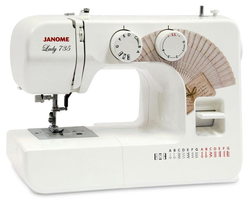 საკერავი მანქანა JANOME LADY 735