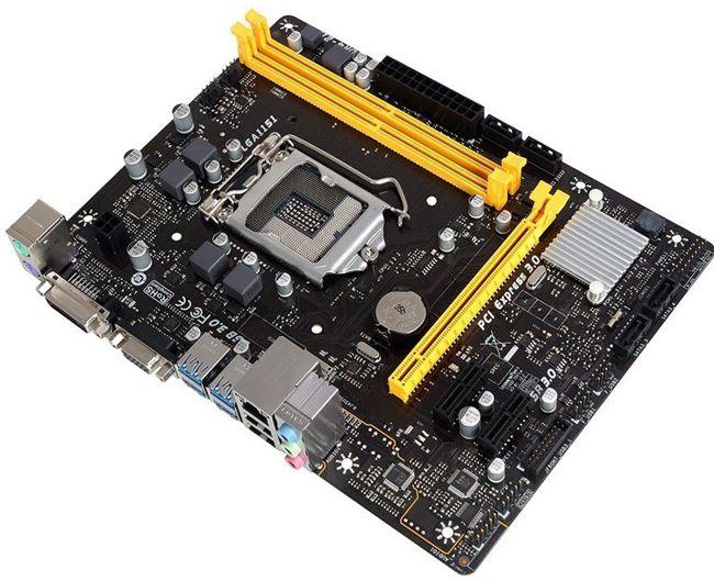 დედა დაფა BIOSTAR H110MDE SOCKET - 1151 H110 DDR4 MATX