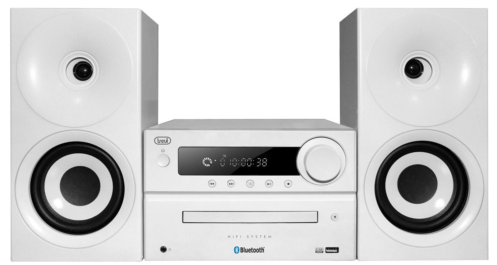 აუდიო სისტემა Trevi HCX1080BT White
