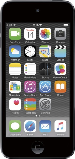 MP3 ფლეიერი Apple iPod touch 128GB Space Grey Model A1574