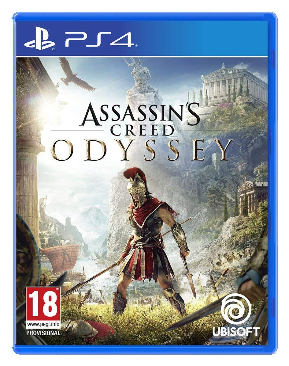Playstation 4-ს თამაში Assassin's Creed : Odyssey