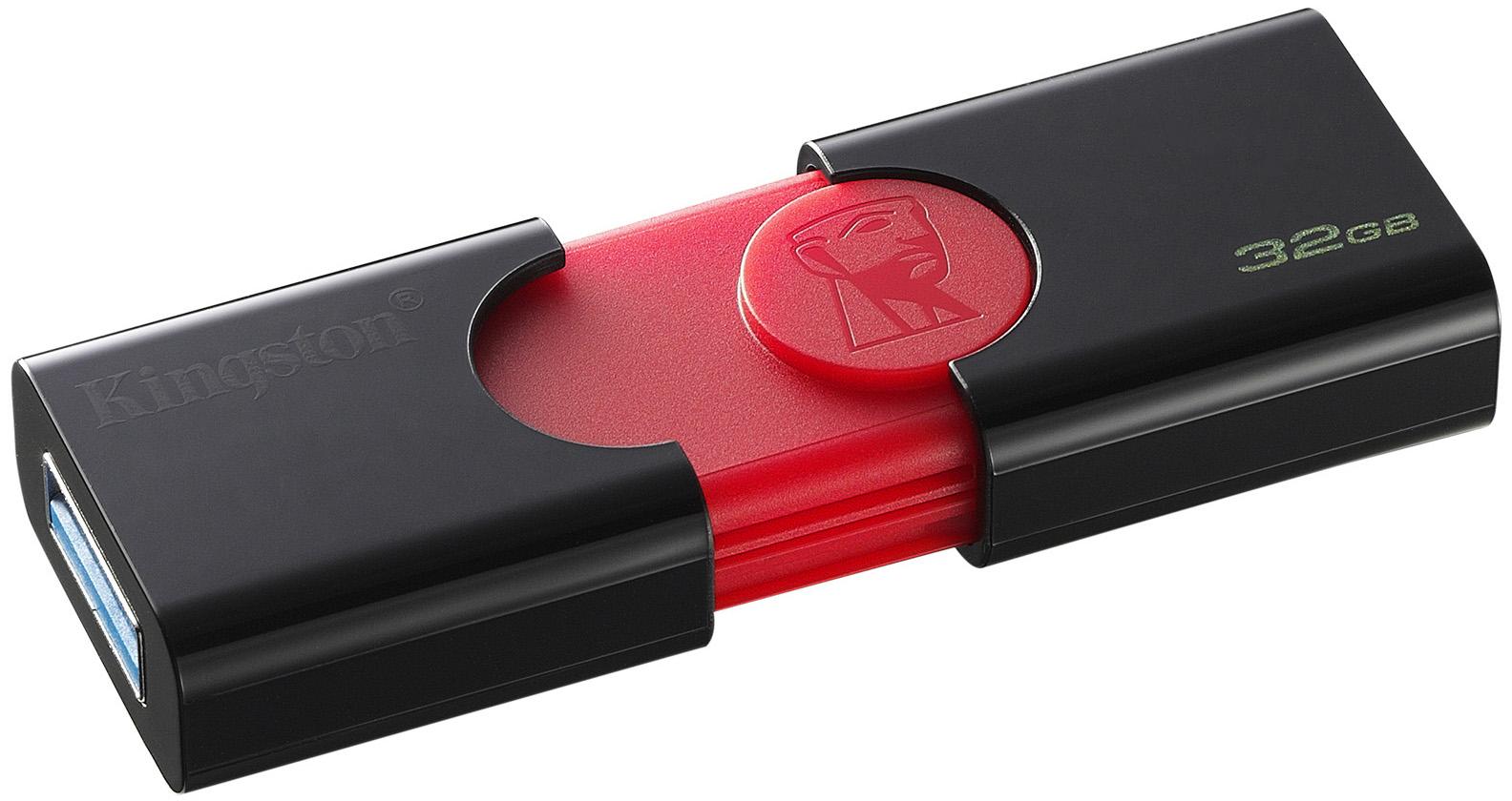 USB ფლეშ მეხსიერება KINGSTON DATATRAVELER DT106/32GB