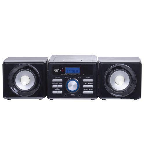 მუსიკალური ცენტრი TREVI HIFI SYSTEM HCX1030S BLACK