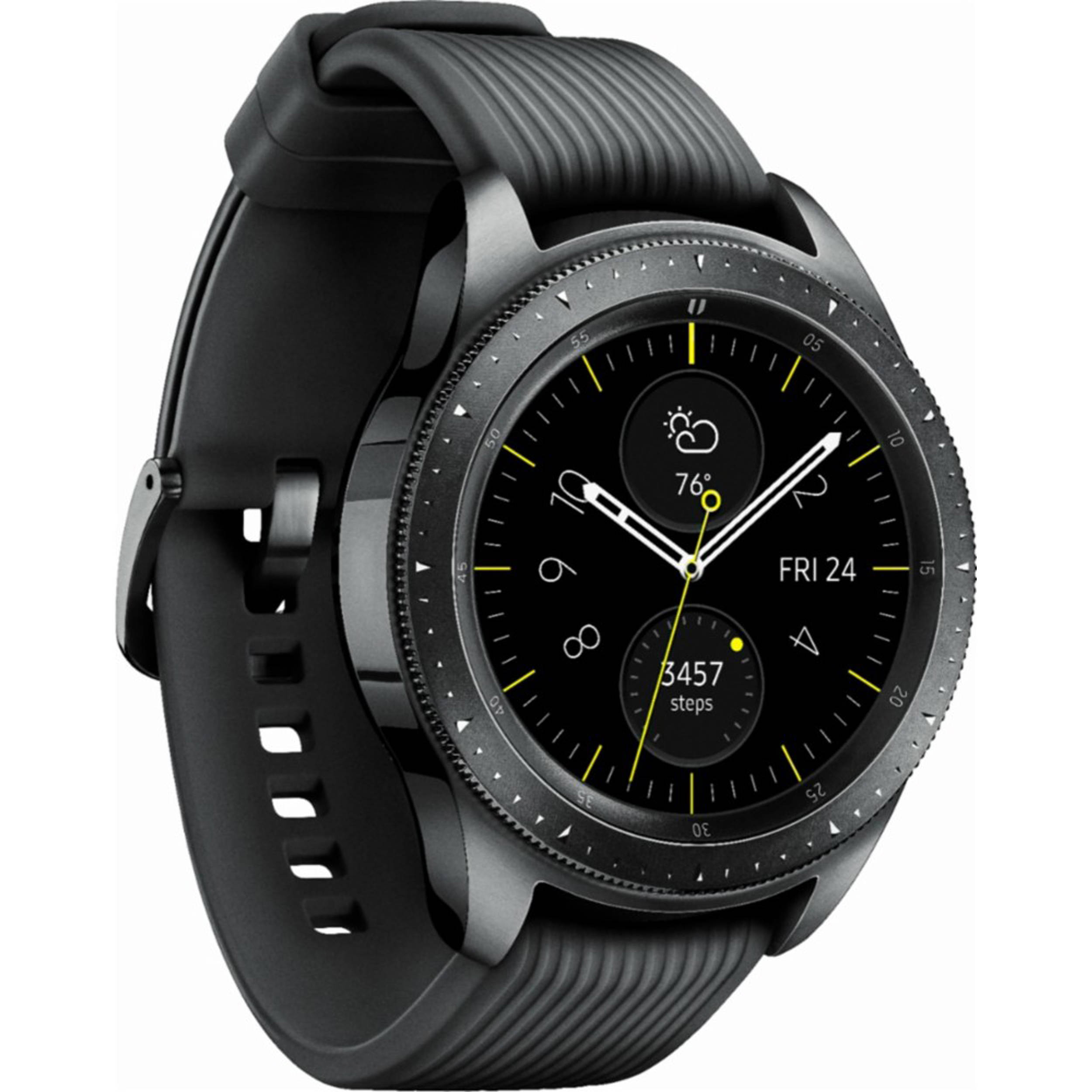 სმარტ საათი Samsung Galaxy Watch 42mm Midnight Black