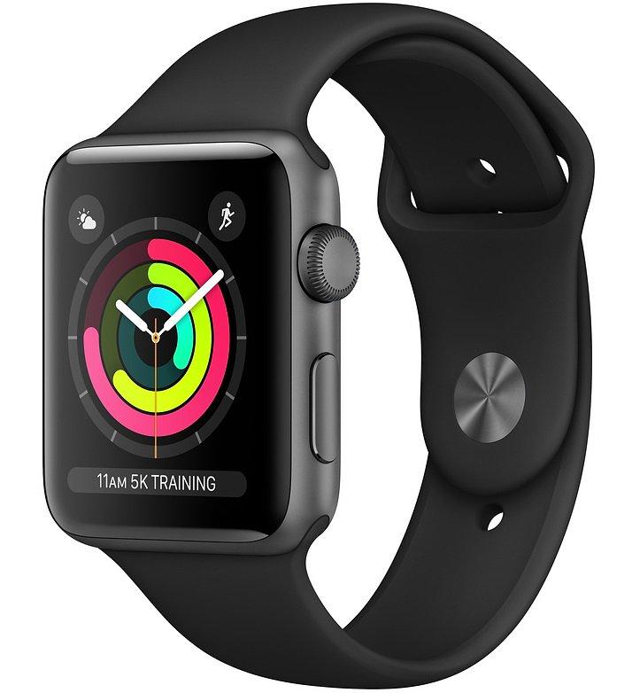 სმარტ საათი Apple Watch Series 3 A1859 (MTF32FS/A) Black