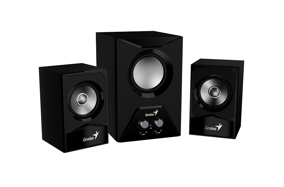 დინამიკი Genius Speaker RS,SW-2.1 385 Black