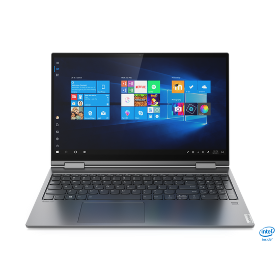 ნოუთბუქი Lenovo Yoga C740-15IML (81TD001QRU) Iron Grey