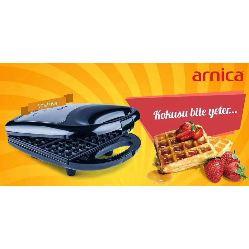 სენდვიჩერი და ვაფლის აპარატი Arnica Tostika 4000 Waffle