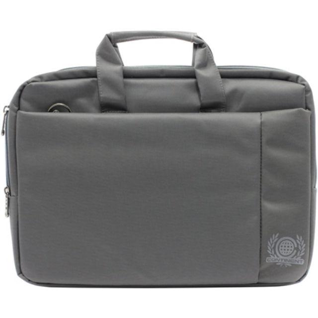 """ნოუთბუქის ჩანთა Continent CC-215 15-17 """", Grey, Nylon/Polyester, Messenger - Briefcase"""