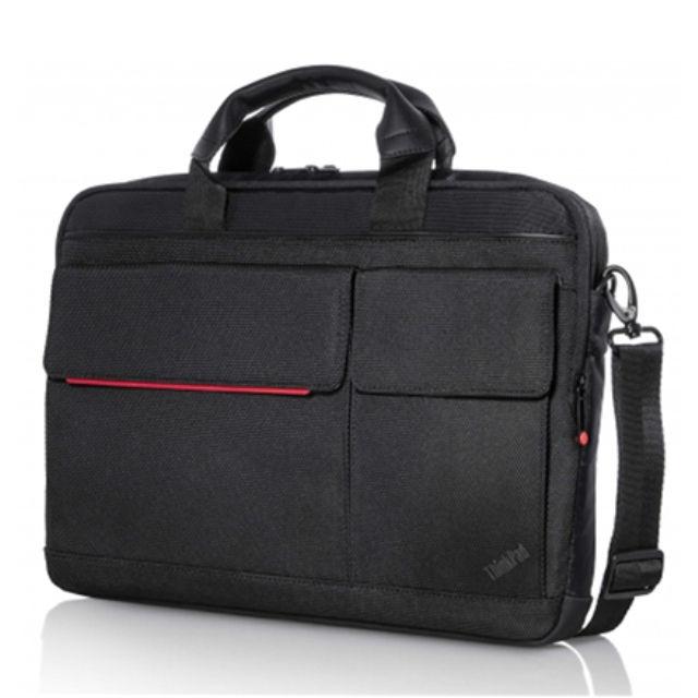 """ნოუთბუქის ჩანთა Lenovo ThinkPad Professional 4X40H75820 Fits up to size 14.1 """", Black/Red, Shoulder strap, Messenger - Briefcase"""