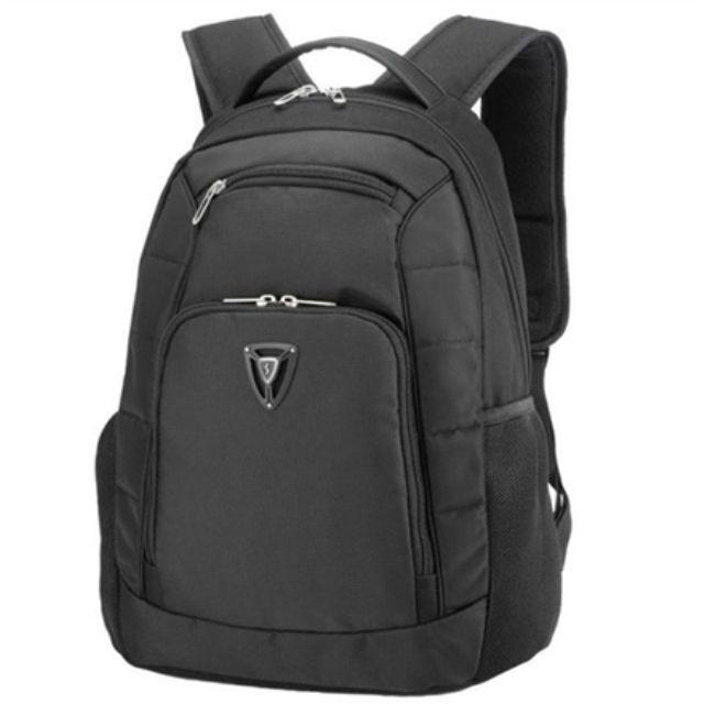 """ნოუთბუქის ჩანთა Sumdex PON-392BK Fits up to size 16 """", Black, Shoulder strap, Polyester, Backpack"""