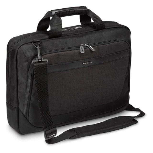 """ნოუთბუქის ჩანთა Targus CitySmart TBT914EU Fits up to size 15.6 """", Black/Grey, Shoulder strap, Messenger - Briefcase"""