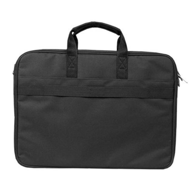 """ნოუთბუქის ჩანთა Sumdex PON-327BK Fits up to size 16 """", Black, Shoulder strap, Messenger - Briefcase"""