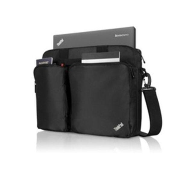 """ნოუთბუქის ჩანთა Lenovo ThinkPad 3-in-1 Case Fits up to size 14.1 """", Black, Shoulder strap, Messenger - Briefcase/Backpack"""
