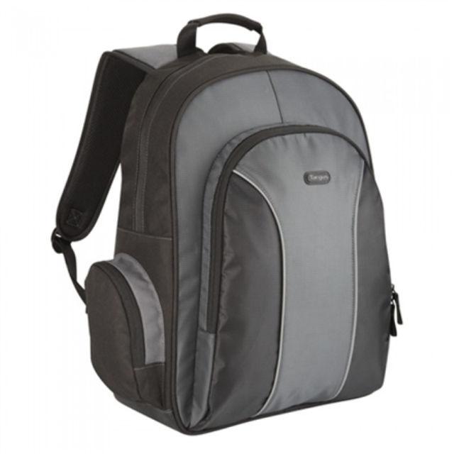 """ნოუთბუქის ზურგჩანთა Targus Essential Laptop Backpack 15.4-16 """", Black/Grey"""