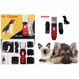 კატისა და ძაღლის ბეწვის საკრეჭი SONAR PROFESSIONAL PET CLIPPER SN-270AiMart.ge