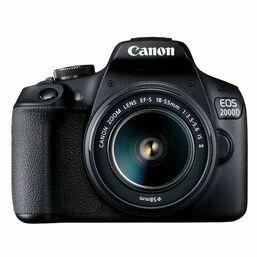 ფოტოაპარატი Canon EOS 2000D EF-S 18-55mm IS II Lens 24.1 MP  BlackiMart.ge