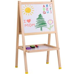 საბავშვო ორმხრივი დაფა WOODEN ART EASELiMart.ge