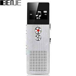 დიქტოფონი BENJIE BJ-M23 C6 METAL VOICE RECORDER AND MP3 8GB FLASH MEMORY SILVERiMart.ge