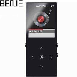 MP3 ფლეიერი BENJIE BJ-M42 TOUCH KEY BLUETOOTH PLAYER 8GB MP3 MUSIC PLAYERiMart.ge