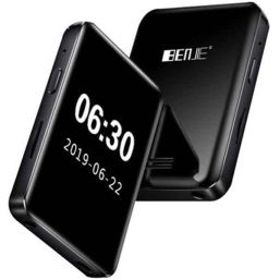 MP3 ფლეიერი BENJIE BJ-A39 8GB BLUETOOTH LCD SCREEN 1.8 INCH MP3 PLAYER BLACKiMart.ge