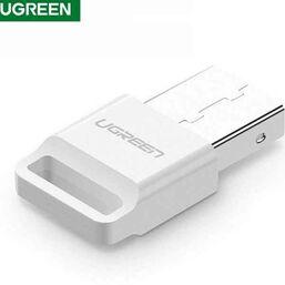 BLUETOOTH ადაპტერი UGREEN US192 (30443) USB BLUETOOTH 4.0 ADAPTER WHITEiMart.ge