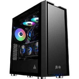 კომპიუტერის ქეისი GOLDEN FIELD 8702B ATX 8702B ATX CASE  4x120mm FIXED COLOR FAN USB 3.0iMart.ge