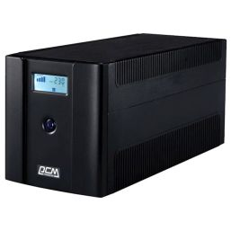 უწყვეტი კვების ბლოკი POWERCOM RPT-1500AP LCDiMart.ge