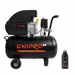ჰაერის კომპრესორი DNIPRO-М AC-48, 8 ბარი, 1200 ვტiMart.ge