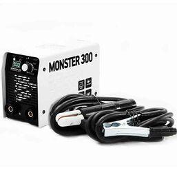 იტალიური წარმოების შედუღების აპარატი MONSTER MS-300A + ქეისი, ნიღაბი, ფუნჯი / ჩაქუჩი (140-260 V)iMart.ge