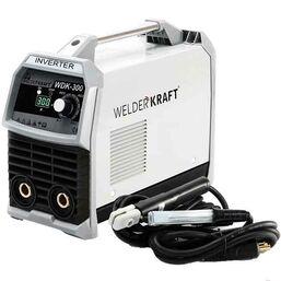 გერმანული წარმოების შედუღების აპარატი WELDER KRAFT WDK-300MMA + ქეისი,ნიღაბი, ფუნჯი / ჩაქუჩი (90-260V)iMart.ge