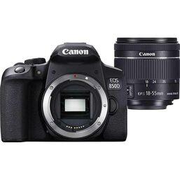 """ფოტო აპარატი CANON DIGITAL CAMERA EOS 850D 18-55 IS,f/4-5.6 IS STM LENS 24.1 MP,  3.0"""" 1,040k-DOT VARI-ANGLE TOUCHSCREEN SD, SDHC, SDXC (3925C016AA)iMart.ge"""