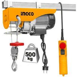 ელექტრო ამწე   INGCO EH5001 ( 1 ჯაჭვით 250კგ, 2 ჯაჭვით 500კგ)iMart.ge